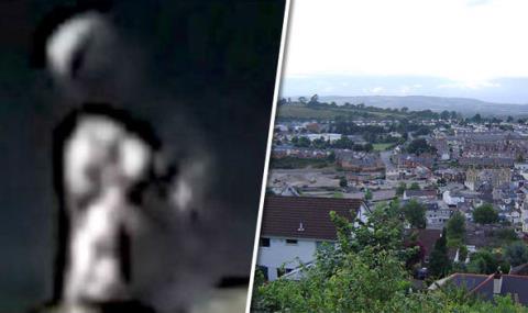 Một người ngoài hành tinh được phát hiện tại công viên Newton Abbott, Devon.