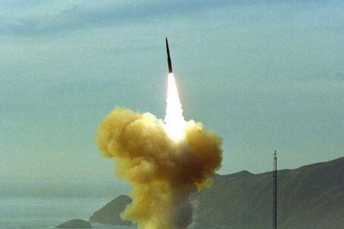 Một vụ thử hạt nhân của Mỹ. Ảnh: National Archives.
