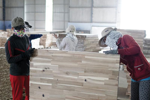 Ngành gỗ hưởng lợi khi nhập nguyên liệu từ EU