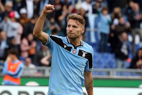 1. Ciro Immobile (Lazio, 27 bàn).