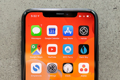 10. iPhone 11 Pro Max (91 điểm).