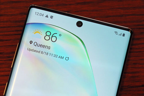 2. Samsung Galaxy Note 10 Plus 5G (99 điểm).