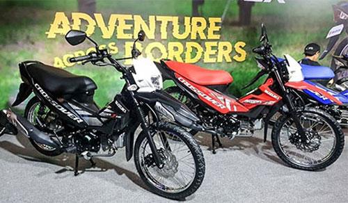 Suzuki Raider 2020 bản crossover.