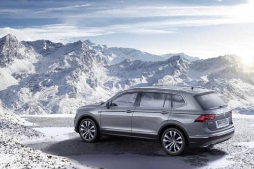 Volkswagen Tiguan Allspace sẽ ra mắt vào tháng tới