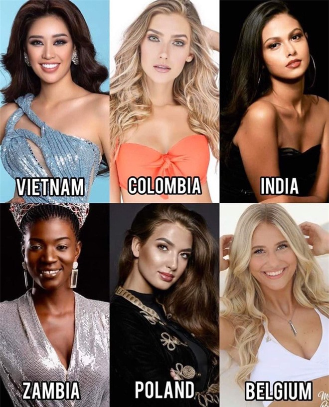 Những đối thủ đầu tiên của Khánh Vân tại Miss Universe 2020: Toàn chiến binh mạnh, đại diện Ấn Độ xứng đáng phải dè chừng! - Ảnh 2.