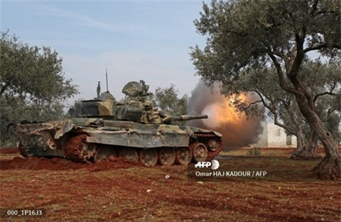 Phien quan dung T-90 thu duoc de tan cong SAA