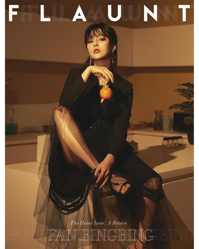 """Phạm Băng Băng cực sành điệu với hình ảnh mới trên tạp chí Flaunt với tựa đề """"Tái xuất""""."""