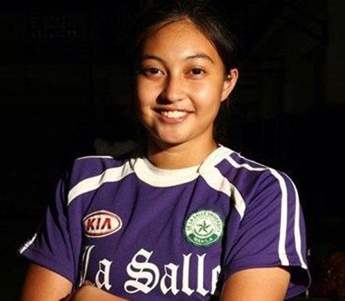 Inna Kristianne Beza Palacios: 26 tuổi, thủ môn ĐT Philippines. Ảnh: Alchetron.com.