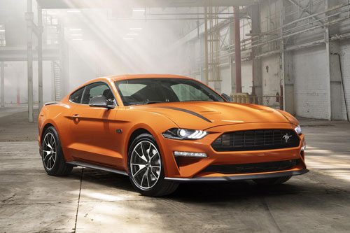 4. Ford Mustang.