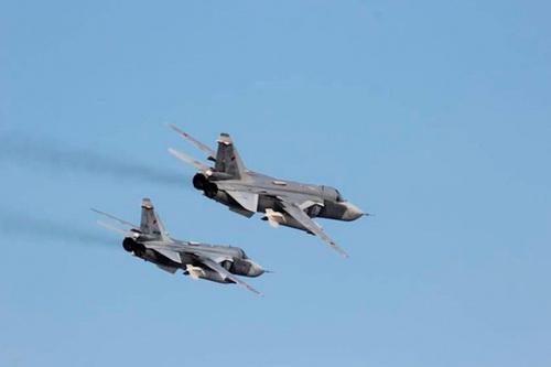Su-22 và Su-24 tấn công trạm kiểm soát Thổ Nhĩ Kỳ đáp trả vụ pháo kích