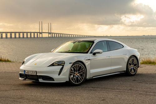 7. Porsche Taycan.