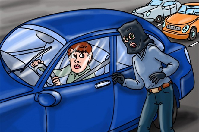 gặp sự cố khi lái xe 5