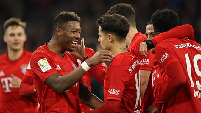 Bayern sở hữu dàn hảo thủ và đang có phong độ cực cao