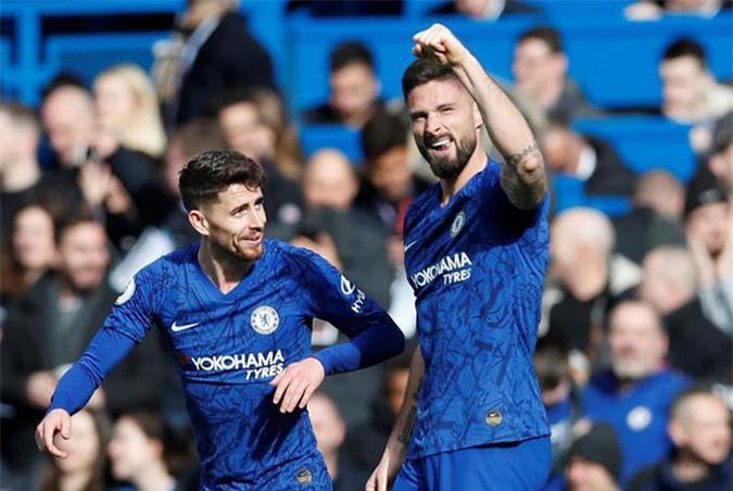 Chelsea nên chơi 3-4-3 với trung phong cắm Giroud