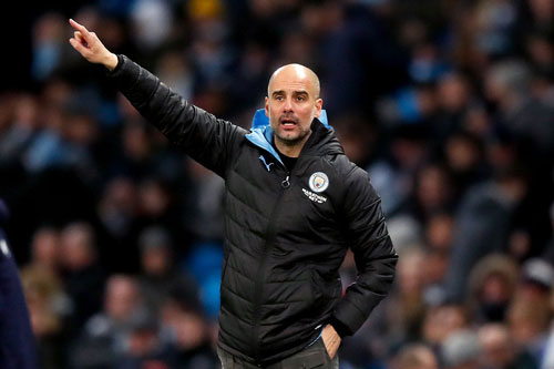 Pep Guardiola. Ảnh: Getty.