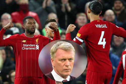HLV David Moyes chê Liverpool