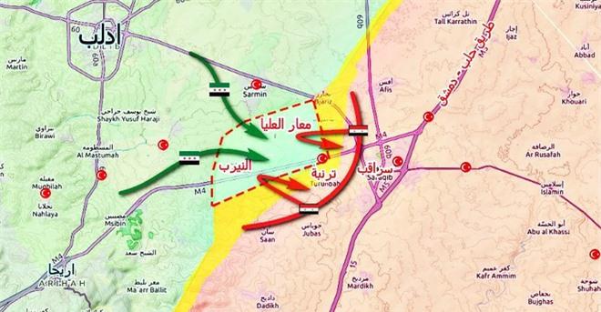 NÓNG: Phiến quân Syria tái chiếm cối xay thịt, KQ Nga thẳng tay tung đòn sấm sét? - Ảnh 1.