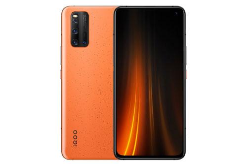 Vivo iQOO 3 5G sử dụng khung viền bằng nhôm, 2 bề mặt phủ kính cường lực. Máy có số đo 158,51x74,88x9,16 mm, trọng lượng 214,5 g.
