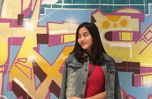 Shafira Ika Putri Kartini: 16 tuổi, hậu vệ ĐT nữ Indonesia. Ảnh: Bongdaplus.