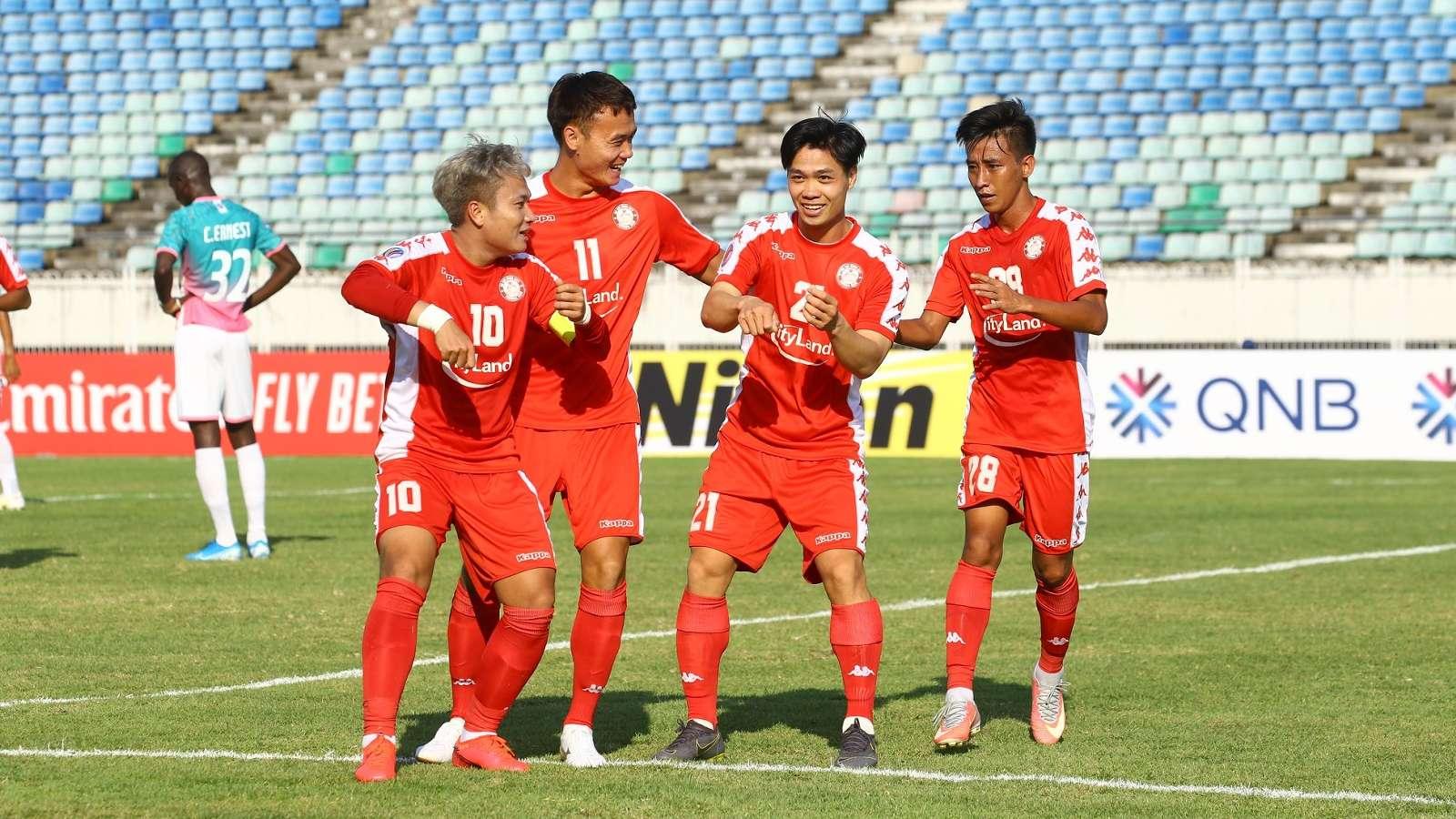Bàn thắng đầu tiên ở AFC Cup cho thấy tín hiệu tích cực với Công Phượng.