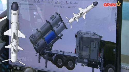 Tên lửa hành trình chống hạm của Việt Nam sẽ sử dụng động cơ phản lực Hàn Quốc? Ảnh: Truyền hình Quốc phòng Việt Nam.