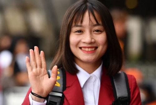 Hoàng Thị Loan: 25 tuổi, tiền vệ ĐT Việt Nam. Ảnh: Zing.