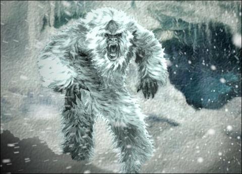 Người tuyết Yeti trong tưởng tượng