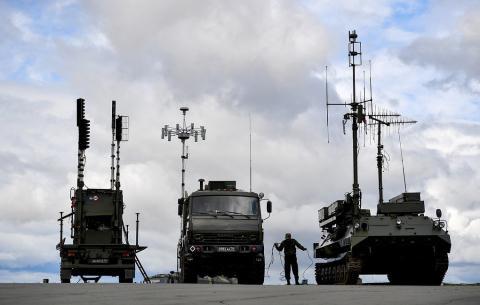 Tổ hợp tác chiến điện tử Nga.