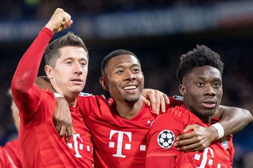 Bayern nhẹ nhàng đánh bại Chelsea.