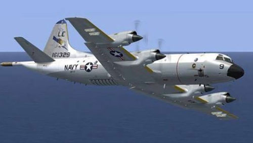 Máy bay giám sát trên biển P-3C của Hải quân Mỹ. Ảnh: taiwannews
