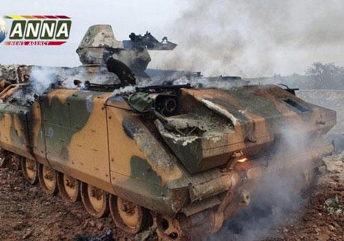 Số phận thảm thương của ACV-15 Thổ Nhĩ Kỳ, vừa bị Syria pháo kích, Nga ném bom