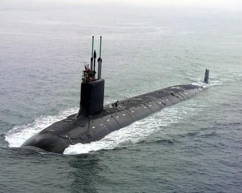 Tàu ngầm tấn công đa năng lớp Virginia. Ảnh: RIA.