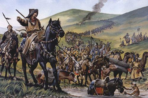 Quân Mông - Nguyên.
