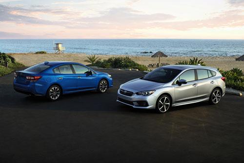 10. Subaru Impreza 2020 (giá khởi điểm: 18.695 USD).