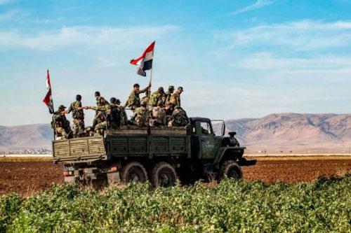 Bước tiến mới của quân đội Syria trong chiến dịch giải phóng Idlib