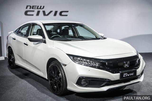 Honda Civic 2020.