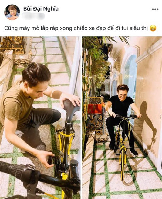 Cả hai bị phát hiện cùng sở hữu chung một chiếc xe đạp…