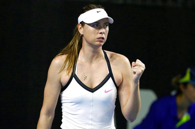Maria Sharapova. Ảnh: Getty.