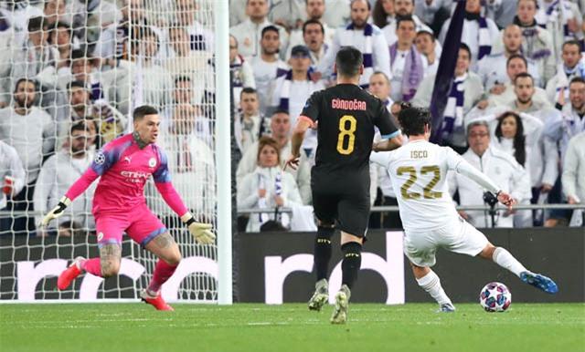 Isco ghi bàn nhưng không thể giúp Real giành chiến thắng
