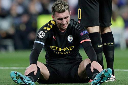 """Man City chịu tổn thất """"nặng"""" ở trận lượt về với Real"""