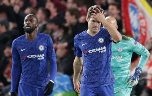 Chelsea đứng trước thử thách quá nặng nề ở trận lượt về vào 19/3