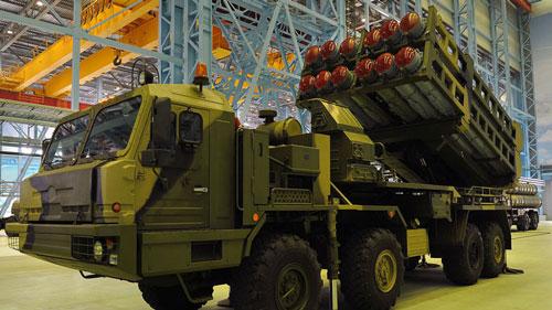 Quân đội Nga tiếp nhận vũ khí tối tân mới
