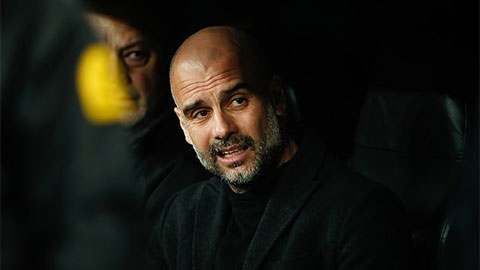 HLV Pep Guardiola.