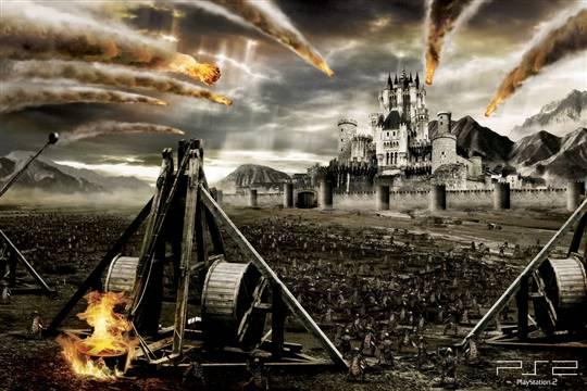 Máy bắn đá là loại vũ khí thời cổ. Theo các nhà nghiên cứu, máy bắn được phát minh năm 399 trước công nguyên. Loại vũ khí này cực kỳ lợi hại trong các cuộc chiến tranh giành thành lũy trong thời cổ đại. Hiện còn nhiều tranh cãi lịch sử về máy bắn đá.