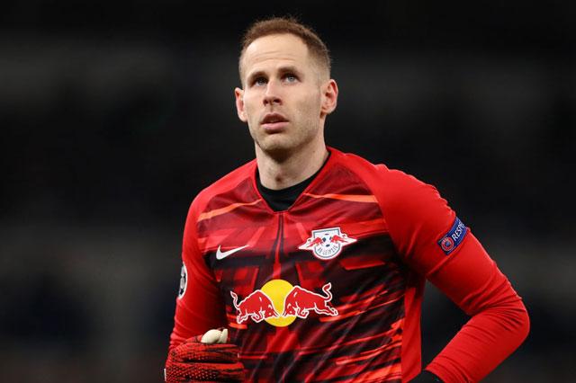 Thủ môn: Peter Gulacsi (RB Leipzig).