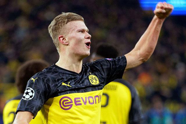 Tiền đạo: Erling Haaland (Borussia Dortmund).