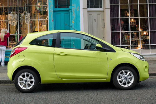 3. Ford KA (doanh số: 183.339 chiếc).