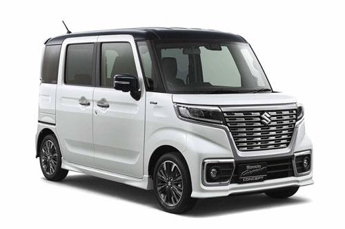 7. Suzuki Spacia (doanh số: 166.389 chiếc).