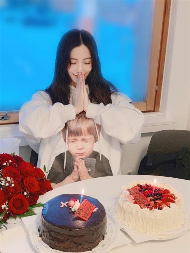 Angelababy rạng rỡ đón sinh nhật tuổi 31, Huỳnh Hiểu Minh vẫn vắng mặt - Ảnh 5.