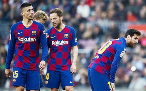 Nội bộ của Barca đang có nhiều vấn đề.